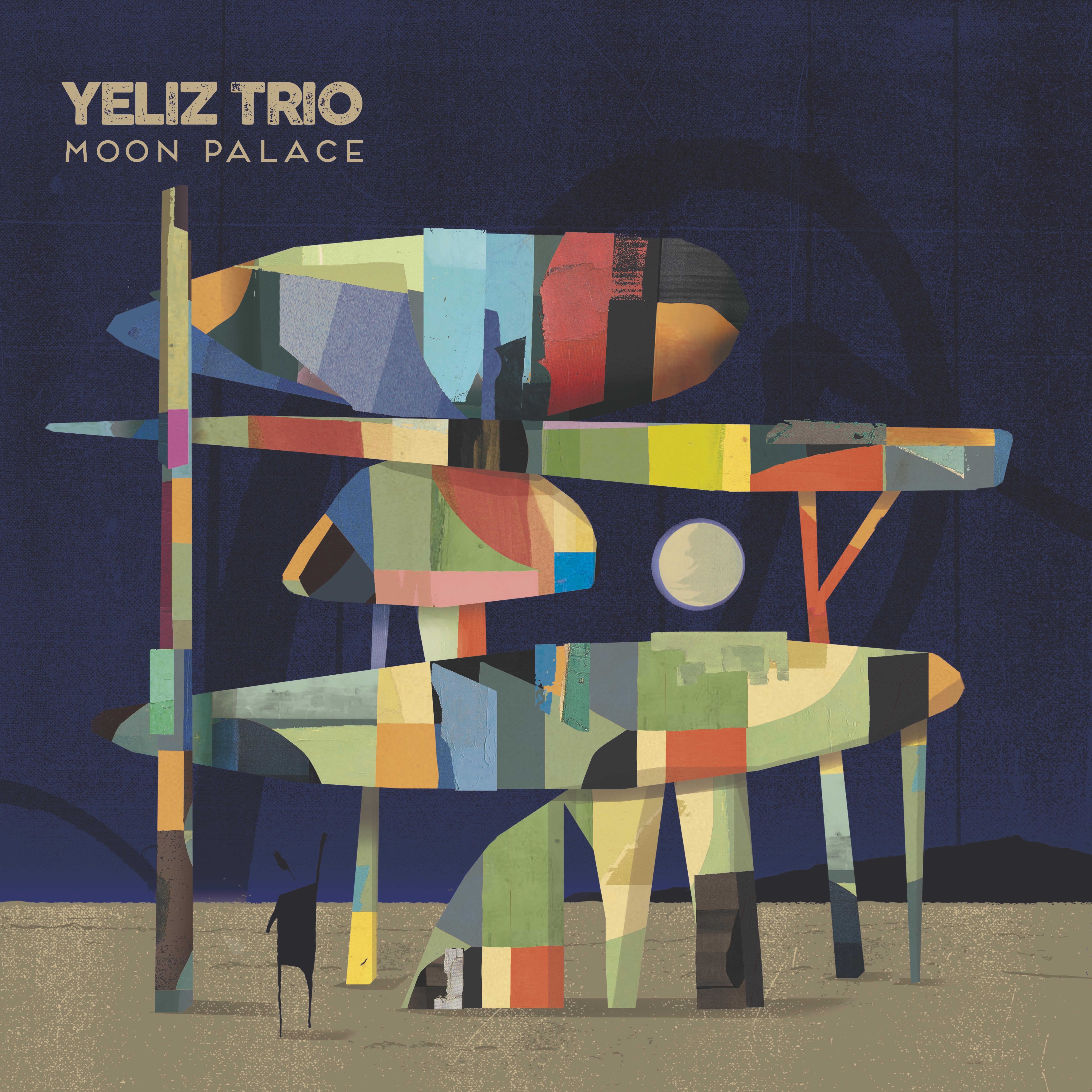 YELIZ TRIO Sortie d'album «Moon Palace» le 24 Janvier 2020